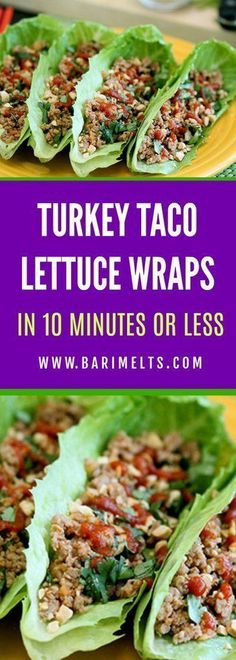 Get delicious and tasty recipes that are catered for Bariatric and weight loss patients to keep you on track with your weight loss goals. Turkey Taco | Lettuce Wrap | Recipes | Diet | Meal Planning | Cooking | Bariatric | Gastric Bypass | Lapband | VSG | Tacos