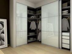 Hanna's closet, gym closet