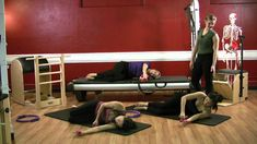 Upside-Down Pilates - Magic Circle and Hand Weights - Pilates Workout 33...