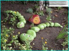 Bildresultat för stenar trädgård orm