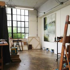 Sharon Kingston's studio