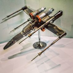 "138 Likes, 9 Comments - sibmetaldesigns@gmail.com (@sib_metal_designs_) on Instagram: ""#xwing #3 I think I'm xwinged out for awhile #starwars #starwarsfan #metalart #usetheforce…"""