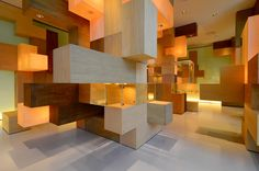 Title: JAIST Gallery (Japan Institute of Science and Technology) --- Year: 2012 --- Architect: Tatsu Matsuda  http://www.tatsumatsuda.com/
