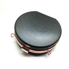 59d7c54a903 18cm x 16.5cm flat half round minaudiere box clutch frame with plastic  covers