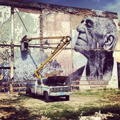 Wrinkles of the City Cuba Project by JR & Jose Parla