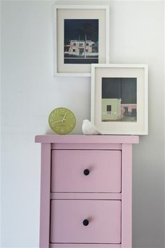 An inspirational image from Farrow and Ball. Walls in All White Estate Emulsion and drawers in Cinder Rose Estate Eggshell. Farrow And Ball Paint, Farrow Ball, Rose Bedroom, Eco Friendly Paint, Childrens Bedroom Decor, Traditional Roses, Bedroom Cabinets, Vintage Bathrooms, Exterior Paint Colors