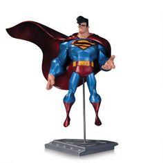 "Superman The Man of Steel: Metallic Finish Statue by Sean ""Cheeks"" Galloway |"