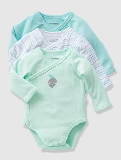 Baby s Pack of 2 Long-Sleeved Bodysuits. Carly jess · Baby clothes cfd9bdd571e