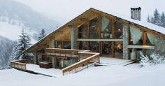 #Chalet #LesBrames #Meribel La bella vita sulla neve: dieci chalet extralusso - Repubblica.it