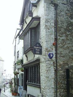 The Elizabethan House, Barbican, Plymouth, Devon.  Originally a sea captain's house built around 1600.
