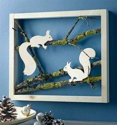 Winter scenes in the frame (kreativ.) - Claudia Mortinka - - Winter scenes in the frame (kreativ. Kids Crafts, Book Crafts, Diy And Crafts, Arts And Crafts, Paper Crafts, Craft Books, Diy Paper, Pinterest Inspiration, Winter Szenen