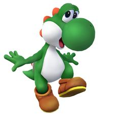YOSHI! makes me smile and think of Andrew's shrine....