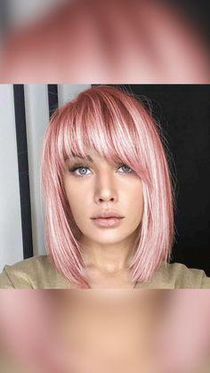 Older Women Hairstyles, Girl Haircuts, Funky Hairstyles, Medium Hair Styles, Long Hair Styles, Mint Hair, Pastel Pink Hair, Blue Hair, Blonde Asian Hair