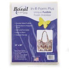 In-R-Form Plus Double Sided Fusible Foam Stabilizer - Bosal Foam & Fiber
