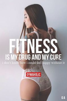 Fitness Quotes QUOTATION – Image : Quotes Of the day – Description #fitness #drug #addictive Sharing is Caring – Don't forget to share this quote !