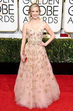 From Jennifer Aniston to Emma Stone, see what all the celebs wore on the 2015 Golden Globes red carpet!