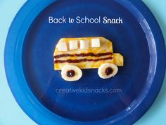Creative and Cute Back to School Snacks for the Kids by Creative Kid Snacks, via Flickr