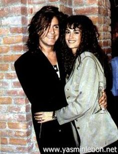Simon and Yasmin Le Bon 1989