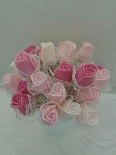 Mýdlo • kytice růží