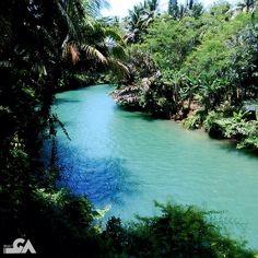 Cijulang River, Pangandaran.