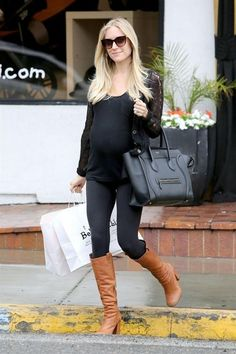 Beautiful maternity clothes fashions outfits ideas(52)
