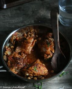 Moroccan Slow Cooker Chicken by africanbites #Chicken #Moroccan #Slow_Cooker