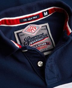 Camisa Polo, Polo Design, Mens Gear, Tee Shirts, Tees, Couture, Hang Tags, Superdry, Branding
