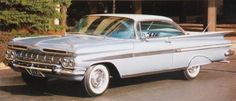 Top Three Cars With Fins:  Number 2- 1959 Chevy Impala