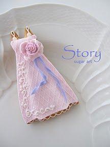 ウェディングドレスのアイシングクッキー Story sugar art  Ameba (アメーバ)