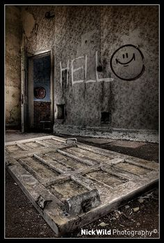 Incredible photography of abandoned psychiatric hospitals. #photography #urban #exploring