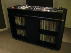 DIY: Custom Home/Studio DJ Console