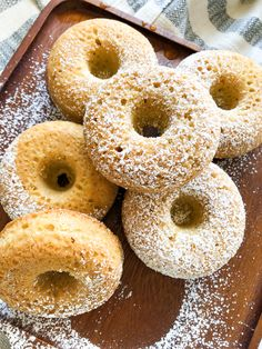 A recipe for plain baked donuts that are baked in the oven and not deep fried in a lot of fat. Plain Donut Recipe, Deep Fried Donut Recipe, Deep Fried Donuts, Baked Donut Recipes, Baked Donuts, Blueberry Donuts, Pancakes And Bacon, Cute Donuts, Chocolate Donuts