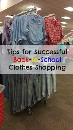 Tips for Successful Back-to-School Clothes Shopping [AD] TargetBTS2015