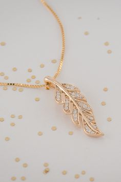 Every time your bridesmaids wear this leaf necklace, they will remember your beautiful fall wedding.