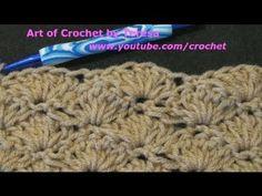 Pineapple and crocodile stitch video tutorials