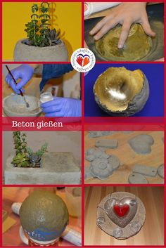 #Beton #Schale #Schüssel #Betonschale #DIY #Pflanze #selbstgemacht #Kreativkurs #Betongießen #concrete #bowl #shell #plants #nature #gold #doityourself @kreativgraz