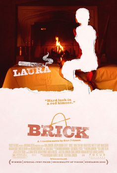 Brick , starring Joseph Gordon-Levitt, Lukas Haas, Emilie de Ravin, Meagan Good. A teenage loner pushes his way into the underworld of a high school crime ring to investigate the disappearance of his ex-girlfriend. #Drama #Mystery