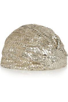 Saint Laurent|Chainmail turban(=)