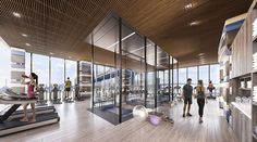 new york's most luxurious gyms and fitness centers new york gym roundup luxury fitness centers<br> we take a look at some of new york's most luxurious fitness centers whose designs help residents keep fit throughout the year. Fitness Memes, Workout Fitness, Fitness Goals, Fitness Motivation, Fitness Design, Gym Design, Club Design, New York, Paar Workout