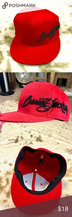 2fdc08512d2 Barrett-Jackson flat bill 3D embroidered hat L XL This limited flat-peak