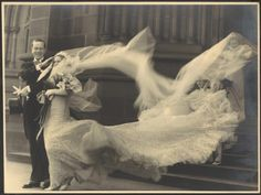 Cyril and Madge, 1935 Sydney, Australia---