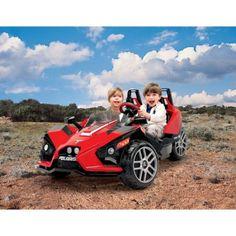Peg Perego Polaris Slingshot Battery-Operated Ride-On. $199 (reg $398)