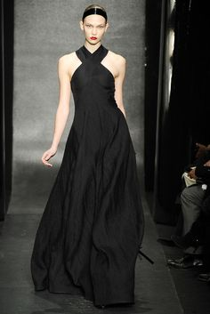 you're viewing Donna Karan Glamour Black dress Fashion Wallpaper