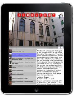Jewish Ghetto tour Venice, Italy by Museum Planet - iPad only