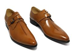 Lace-Up Monk Strap For Men