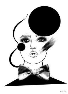 Makeup Mess av Little Kajsa - Poster för dina väggar från Gallerix, pris från 79 kr. Besök oss på https://www.gallerix.se
