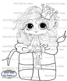 INSTANT DOWNLOAD Digital Digi Stamps Big Eye Big Head Dolls Digi  My Besties Holiday Gift By Sherri Baldy by SherriBaldy on Etsy https://www.etsy.com/listing/212809596/instant-download-digital-digi-stamps-big
