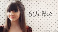 Find out how to create sixties-inspired hair on our blog!