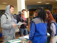 """College of Lake County """"Mini Job Fair"""" On Campus Recruitment Event Photos, October 10th 2013"""