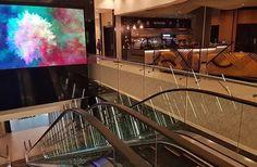 Cool glass balustrades